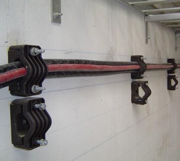 Abrazaderas para conductores subterráneos