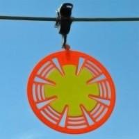 Disco señalizador de cables de baja altura