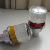 Baliza autónoma de advertencia 4 LED de alta intensidad