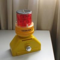 Baliza D-Beacon solar con base antirrobo